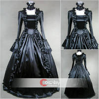 Noble Gothic Classic LLace Lolita Dress by wendywei2012