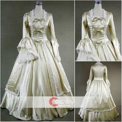 Trumpet Long Sleeves Classic Gothic Lolita Dress