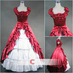 Square Collar Short Sleeves gothic Lolita Dress