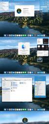 Complete Macos Big Sur transformation for Windows by peterrollar2
