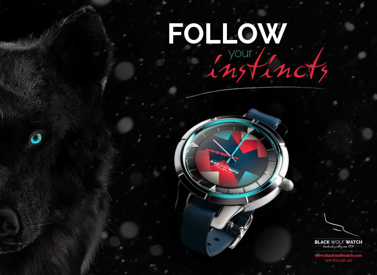 Black Wolf Watch Promo by HungryWolfDesigns