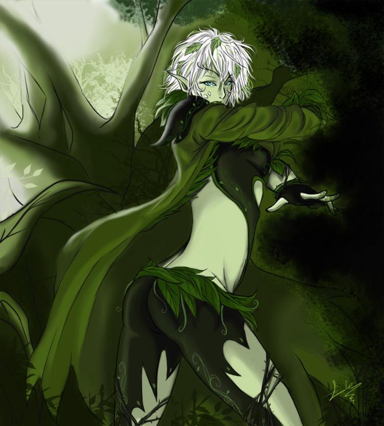 Sylvari Necro by Reya84