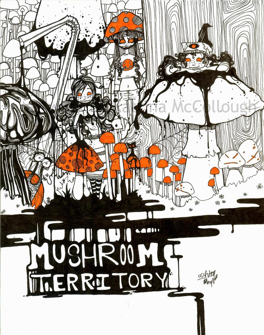 Mushroom Territory by turp