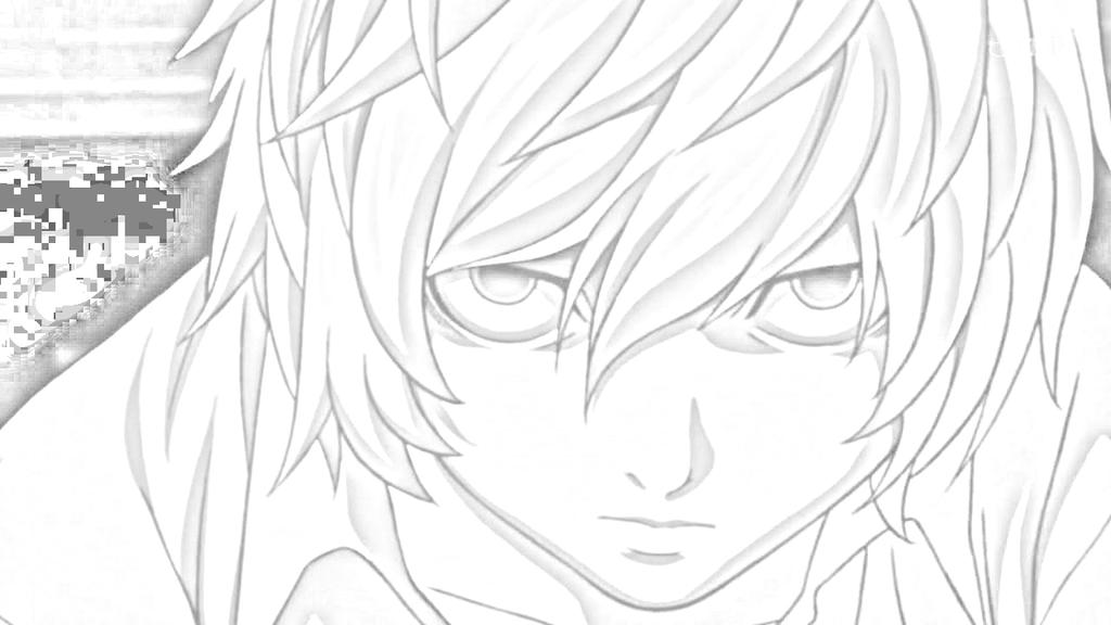 Dibujos Para Colorear De Death Note: Near (Death Note) Dibujo By Nicolas-Prower On DeviantArt