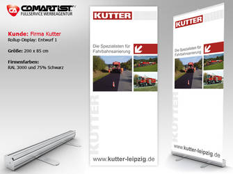 Rollup Display Kutter by pinselstrich