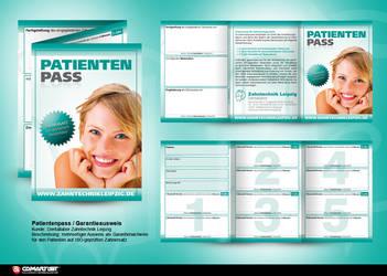 warranty card dental labor by pinselstrich