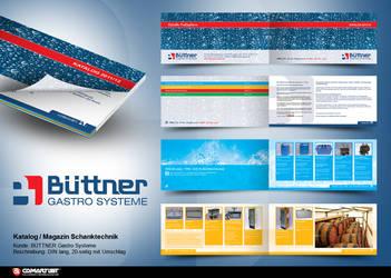 catalog brochure Buettner by pinselstrich