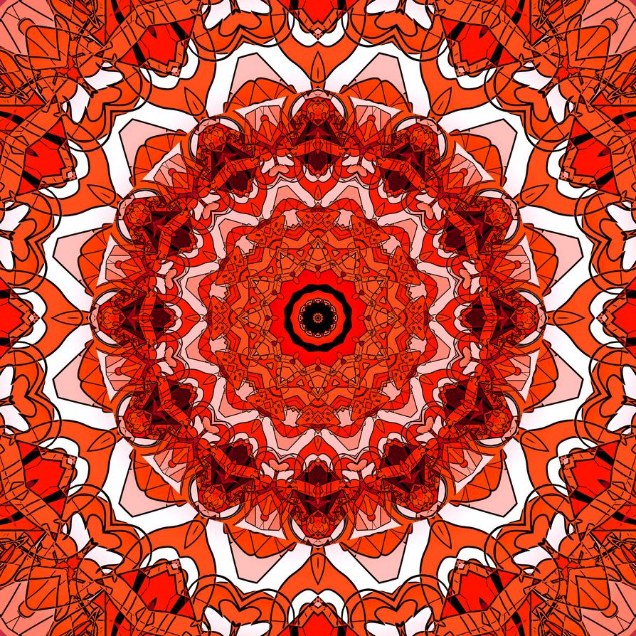 Creative Commons Mandala 76 by onojk123