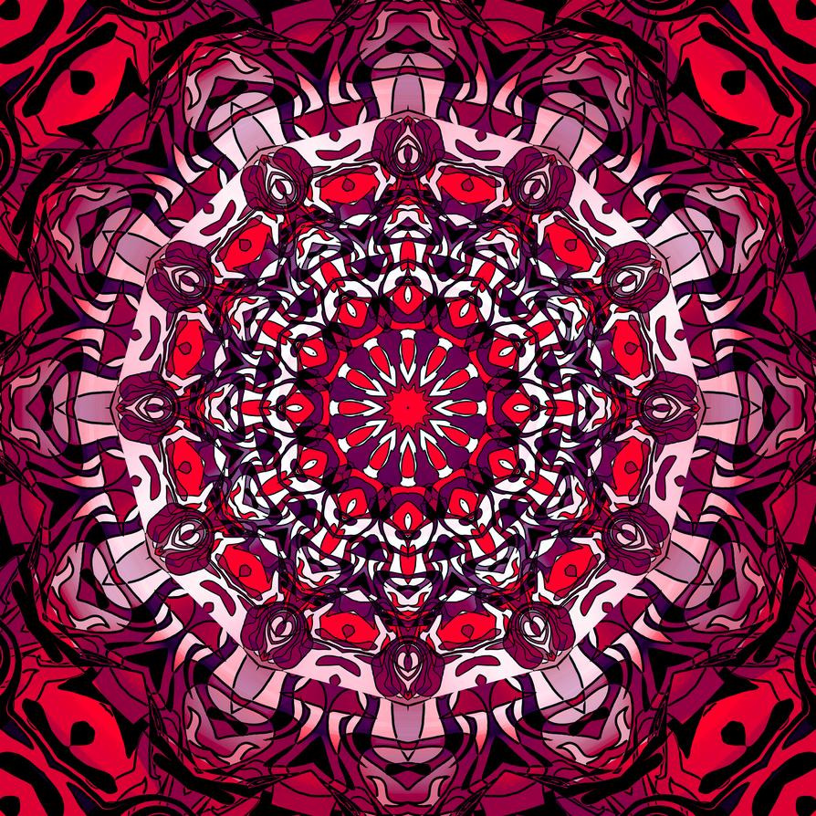 Creative Commons Mandala 77 by onojk123