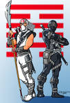 Snake Eyes and Storm Shadow