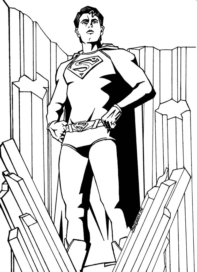 Superman Returns by DrawnToPerfection on DeviantArt