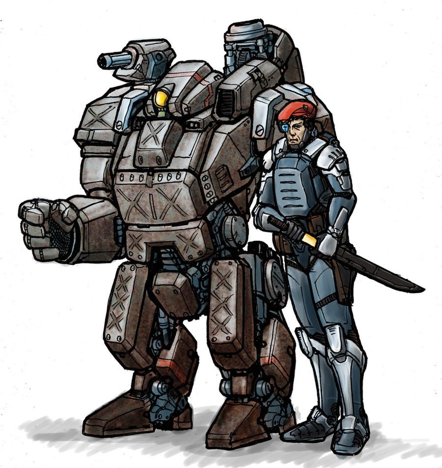 MK IV Armour and Senior Officer by AlexandrosIII