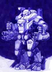 Heavy Armour IV by AlexandrosIII