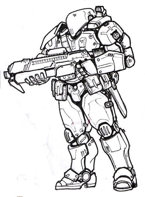 Shock Trooper by AlexandrosIII