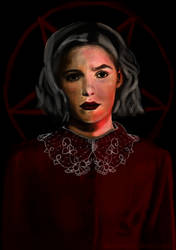Chilling adventures of Sabrina - Fanart by Smilechaos