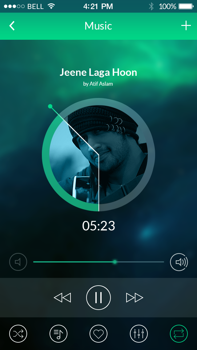 Modren mobile app ui kit by kamranbhatti44