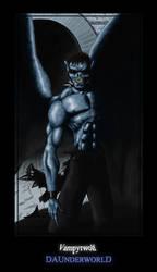 The Hybrid Vampyrwolf by skeats
