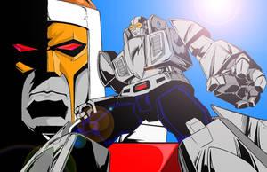 Go-Bots Leader-1 Cykill color by Venom20XX