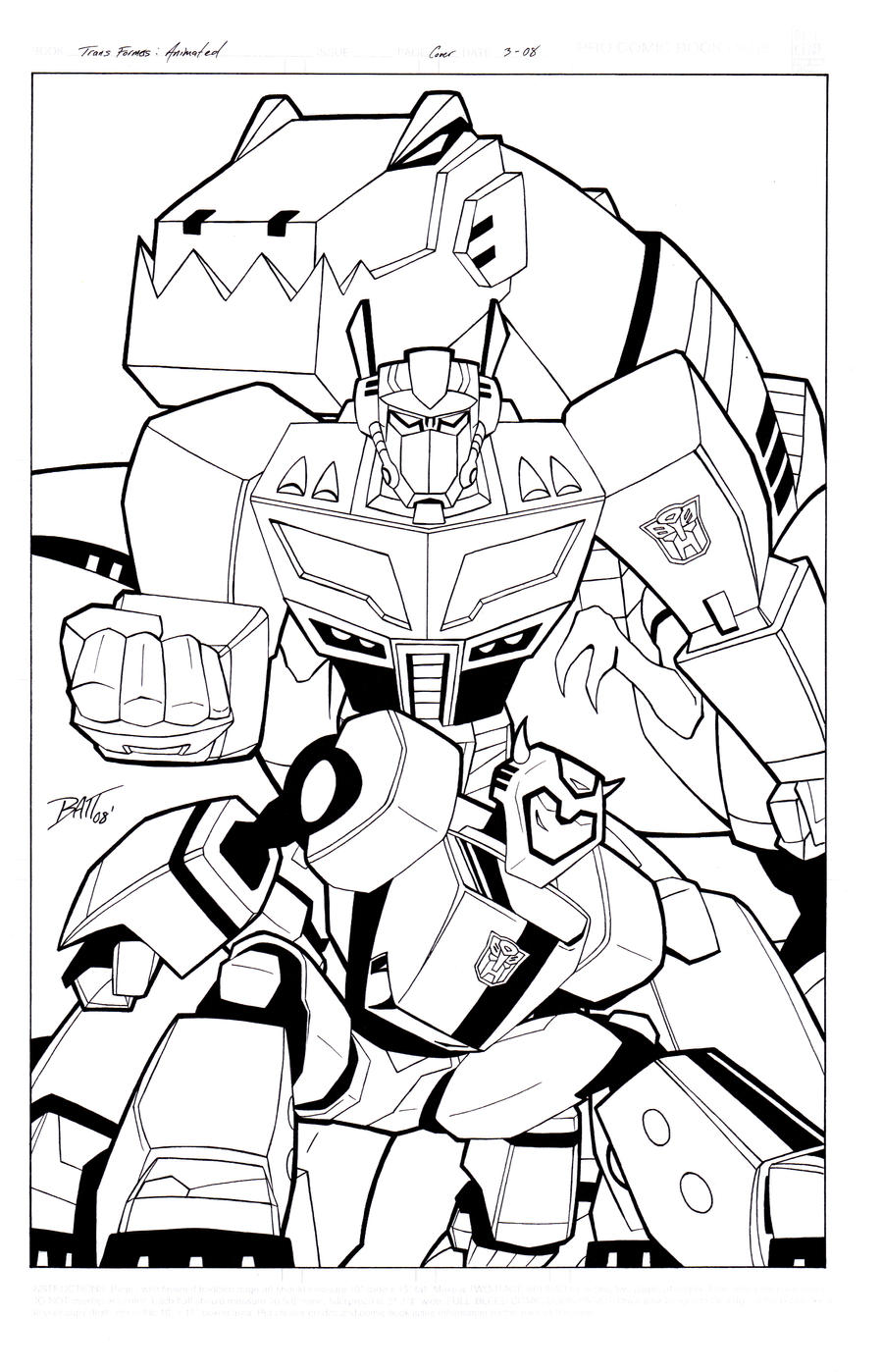 Transformers Animated poster by Venom20XX on DeviantArt