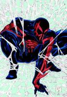 Color Spider-Man 2099 by Venom20XX