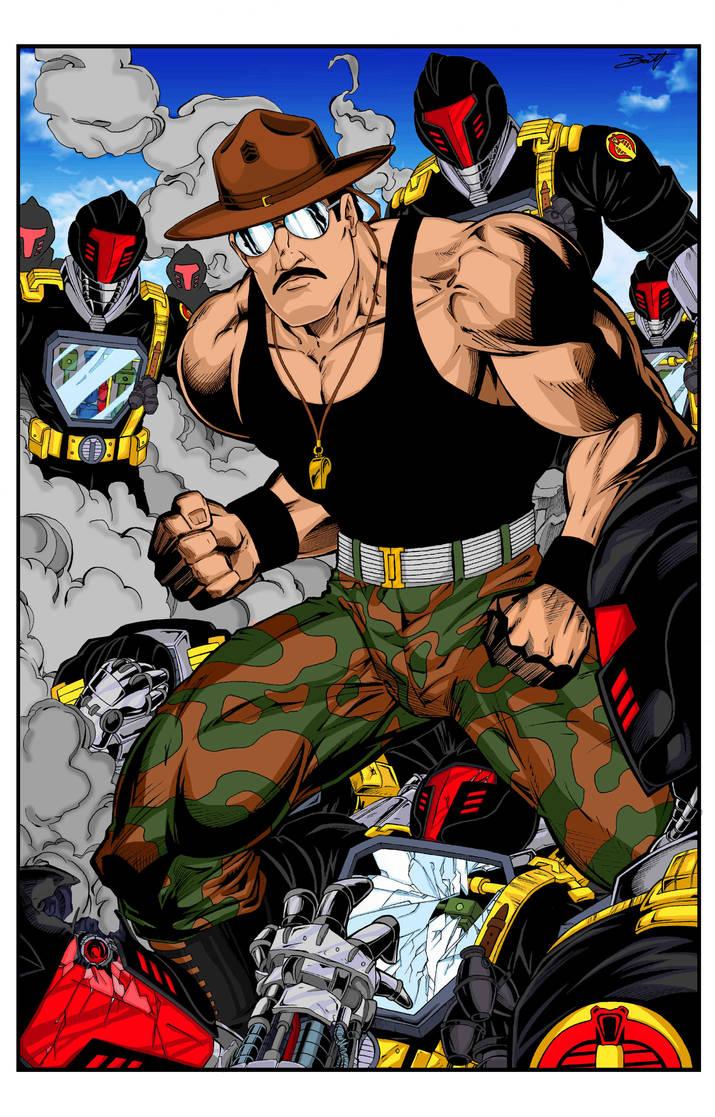 Sgt. Slaughter Color