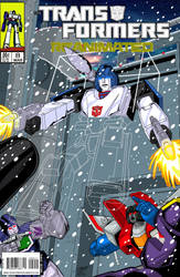 Transformers: Reanimated #8 cover