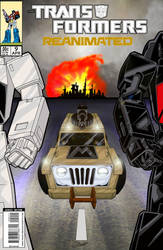 Transformers: Reanimated #9 cover