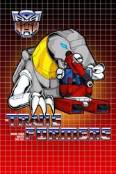 G1 Grimlock and Perceptor poster