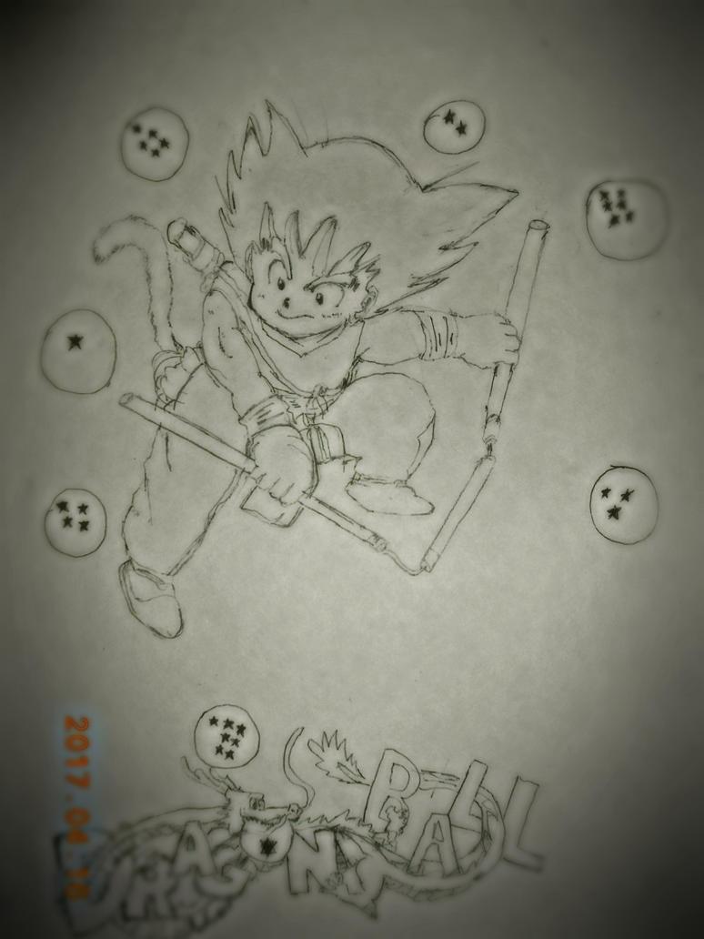Son Goku by 0Mrpriest0