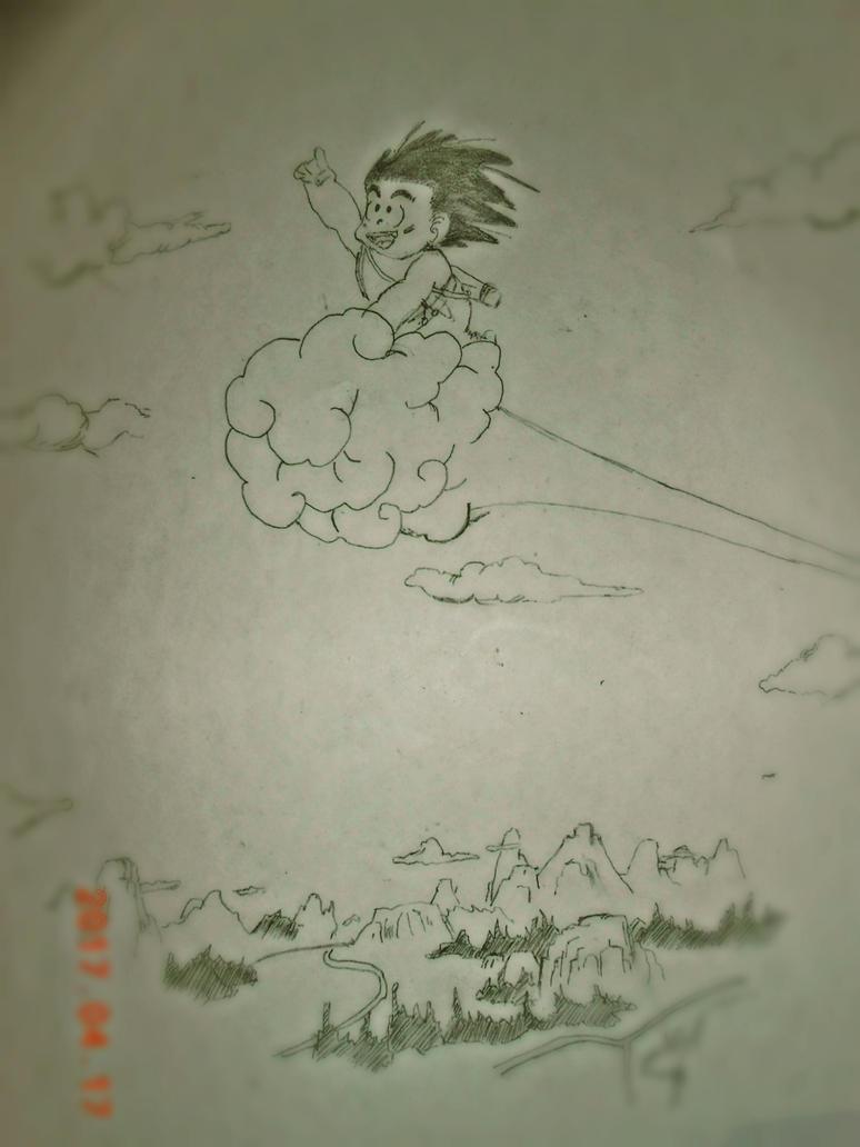 Son Goku 2 by 0Mrpriest0