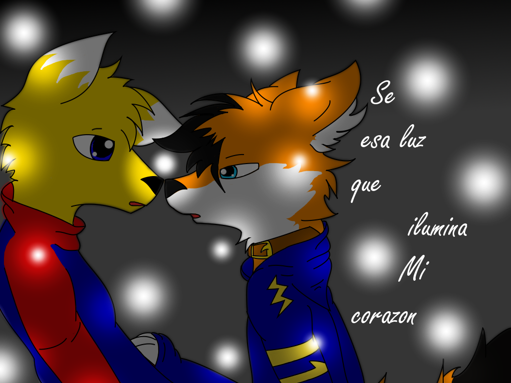 El Zorro de una cola hace su aparicion Fireflies_by_ichibinokitsune-d47r9sk