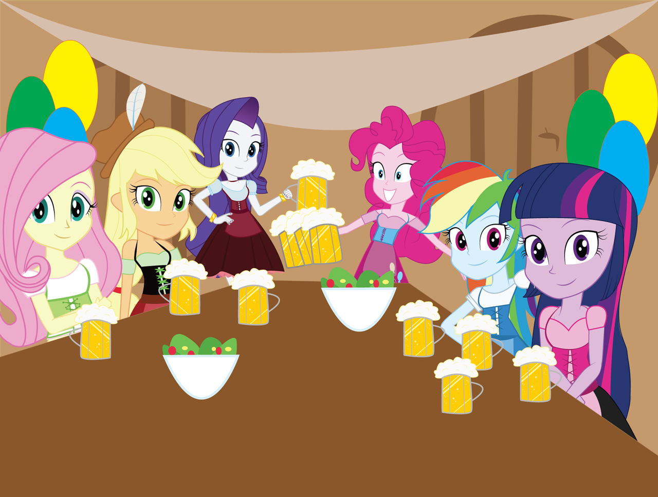 MLP EG: Greetings from Germany! by EninejCompany on