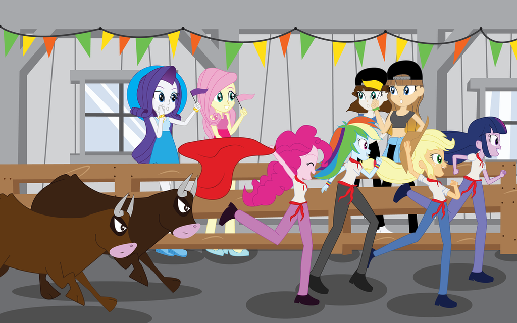 mlp eg fun day in spain by eninejcompany on deviantart