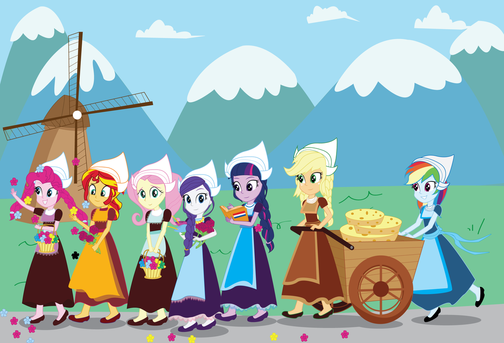 MLP EG: Greetings from Germany! by EninejCompany on DeviantArt