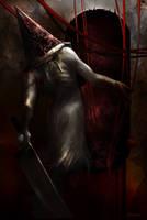 Pyramid Head . Silent Hill 2 by Fanat08