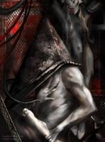 Silent Hill 2 .Pyramidhead . by Fanat08