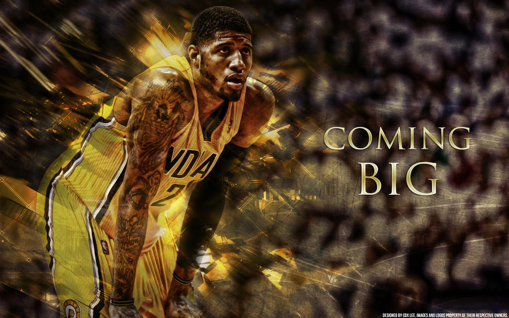 Paul George wallpaper by coxlee on