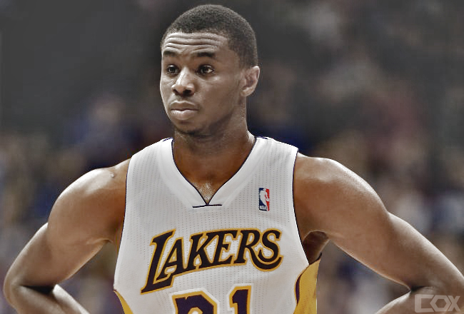 Andrew Wiggins of Lakers by coxlee on DeviantArt