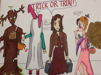 Halloween Contest Submission (Read description) by incrediblekat619