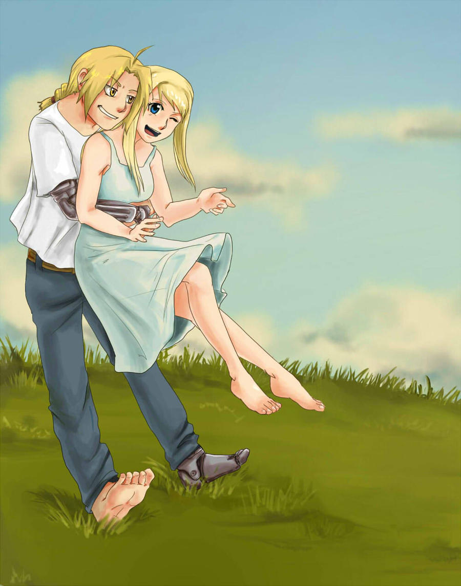 6 Foot Anime Characters : Barefoot in the grass by yoporock on deviantart