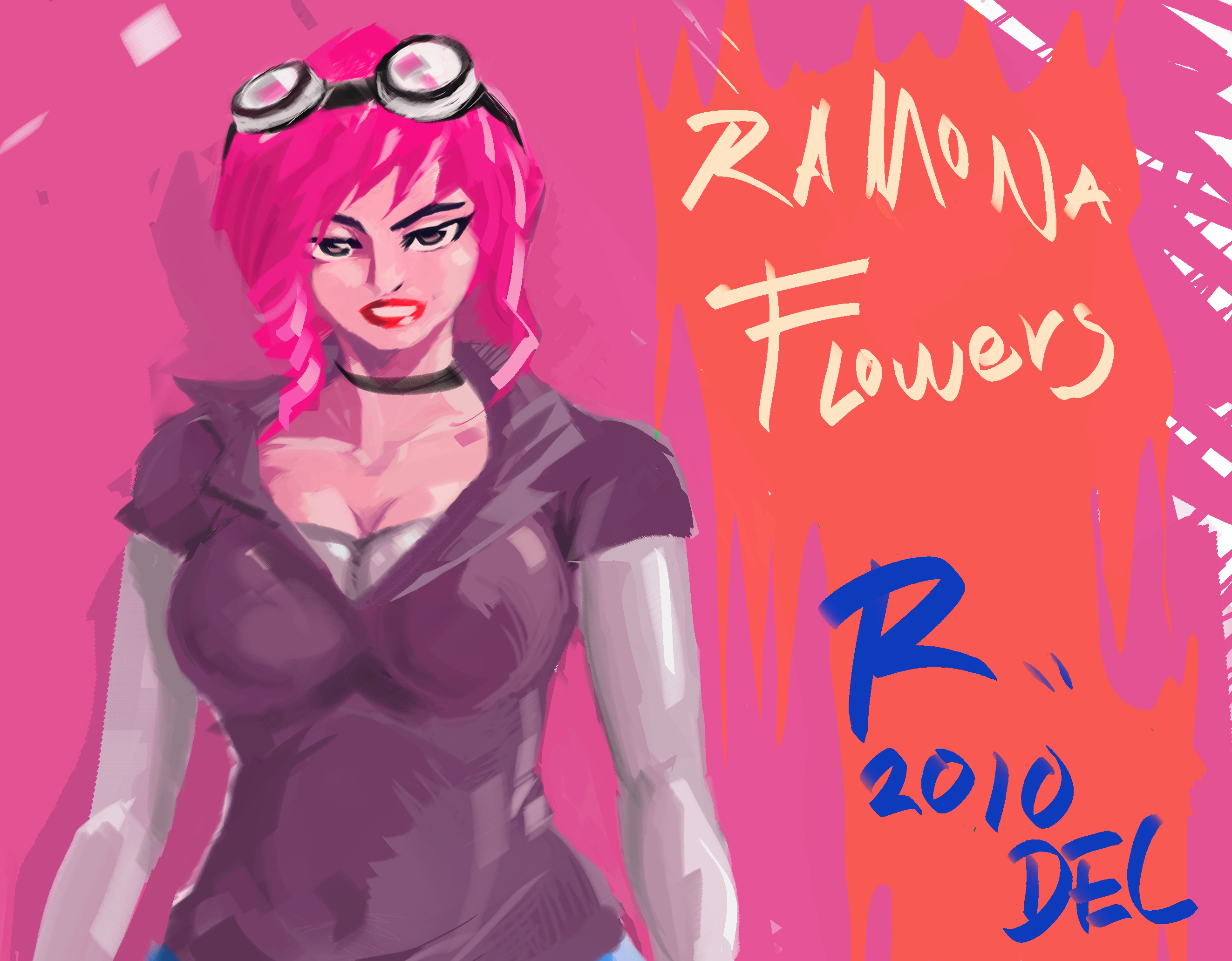 RAMONA FLOWERS short version by Augusto-Rubio