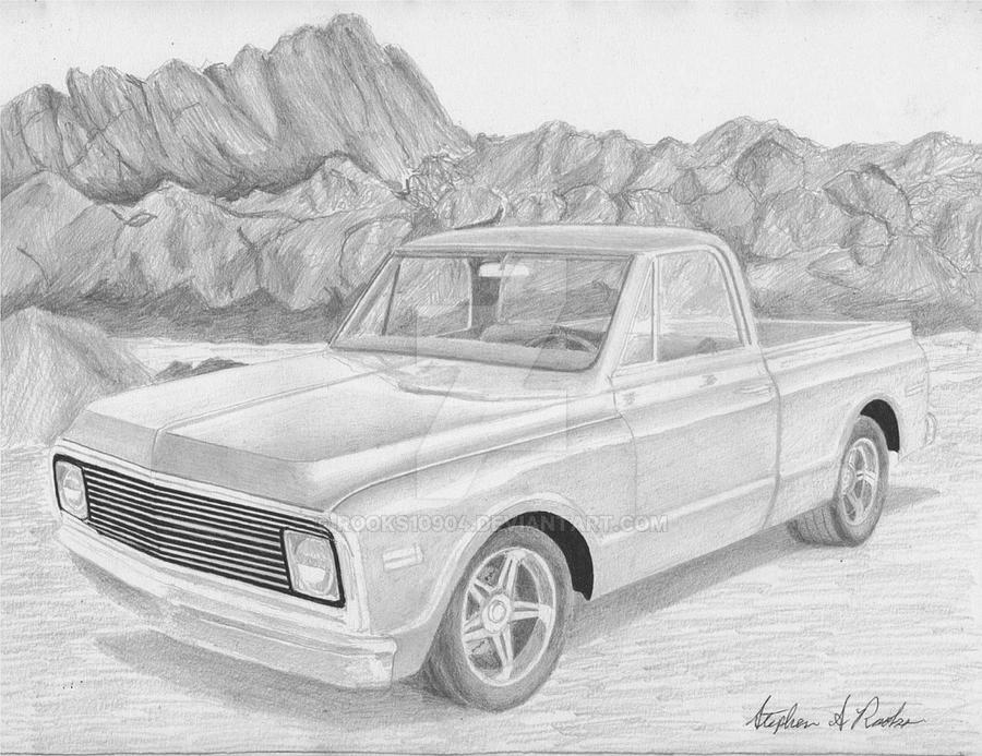 1969 Chevrolet C 10 Pickup By Rooks10904 On Deviantart