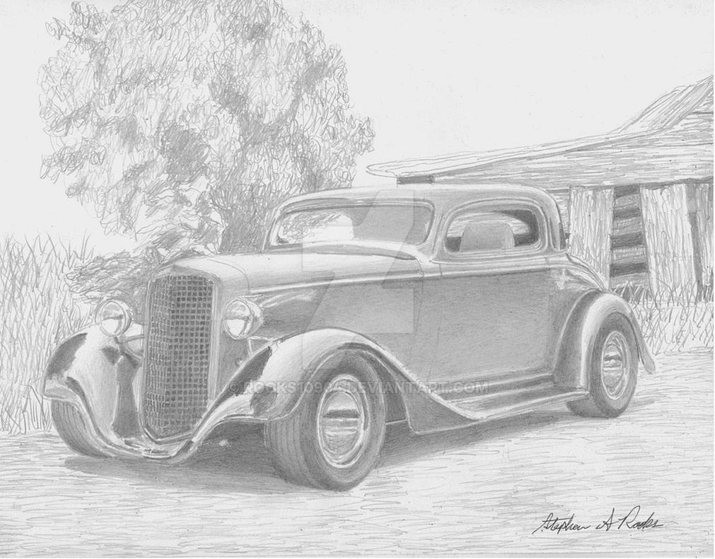 1934 chevrolet 3 window coupe by rooks10904 on deviantart for 1934 chevrolet 5 window coupe