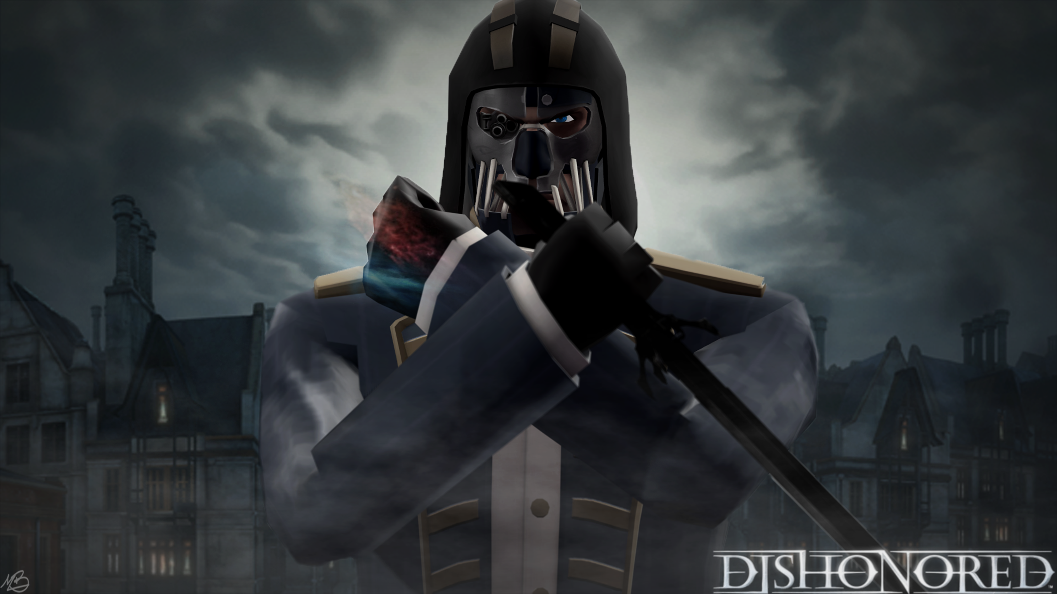 Dishonored Fan Art Corvo Video Games Wallpapers Hd: Dishonored By Monast On DeviantArt