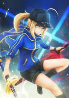 [FGO] Mysterious Heroine X by Coolnova