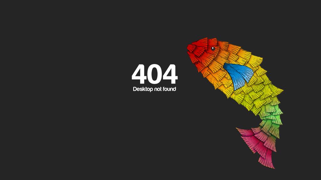404 Desktop not found by D3n1el