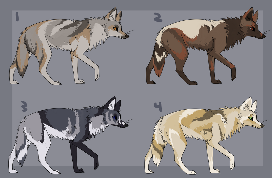 Natural Colored Adoptables Deviantart