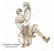  C .:Conor x Hoshi:. by Poromii