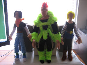 Pipe Cleaner Androids