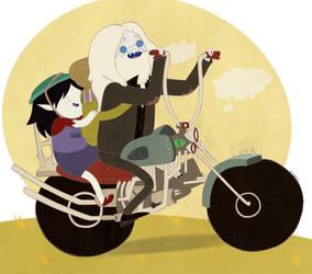 Let's take a ride, honey by Izachian